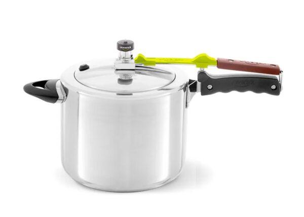 Olla a presión con cierre interno 8 litros.