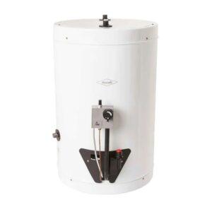 Calentador de agua 20 galones Haceb de acumulación a gas natural blanco